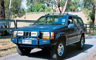 Front Recovery Bumper, ARB Bull Bar, ZJ (3450060 / JM-02096 / ARB)