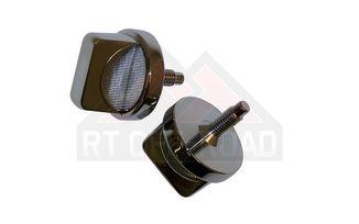 Windshield Knobs (Chrome) (488527 / JM-01971 / Crown Automotive)