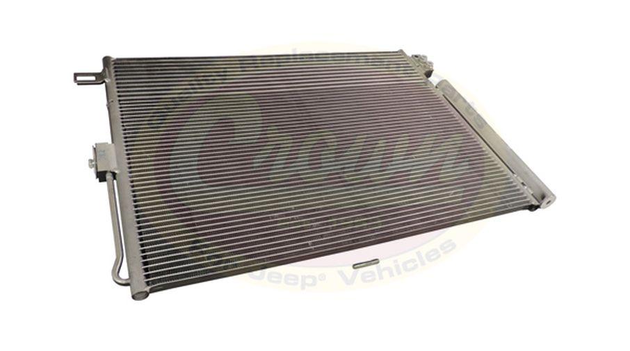 A/C Condenser & Transmission Cooler (55038003AG / JM-03192 / Crown Automotive)