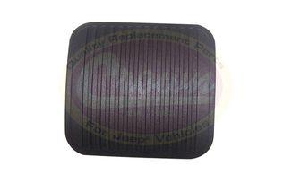"Pedal Pad (Clutch or Brake - 2-1/2"" Wide) (52002750 / JM-02414 / Crown Automotive)"