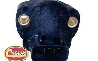 Throttle Position Sensor (V8 01-03) (5017479AA / JM-00130 / Crown Automotive)