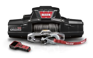 WARN ZEON 10-S Platinum Winch With Synthetic Rope (93680 / JM-02553 / Warn)
