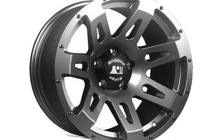 XHD Aluminum Wheel, Gun Metal, 18X9, JK (15305.30 / JM-02705 / Rugged Ridge)