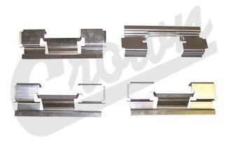 Caliper Slipper Kit (Front) (5143700AA / JM-04016 / Crown Automotive)