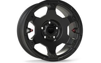 Nomad Wheel, 17X8.5 (ET0), Black, JK / JL (1056059 / JM-04689 / TeraFlex)