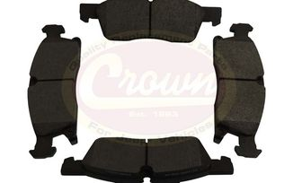 "Brake Pad Set (Front), for 18"" wheel, WK2 (68052370AA / JM-02099 / Crown Automotive)"