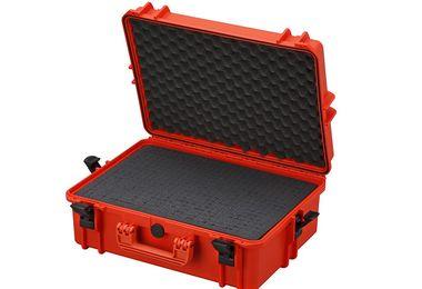 Waterproof Suitcase With Cube Cut Foam / Orange / Large (SBOX020 / JM-04799 / Front Runner)