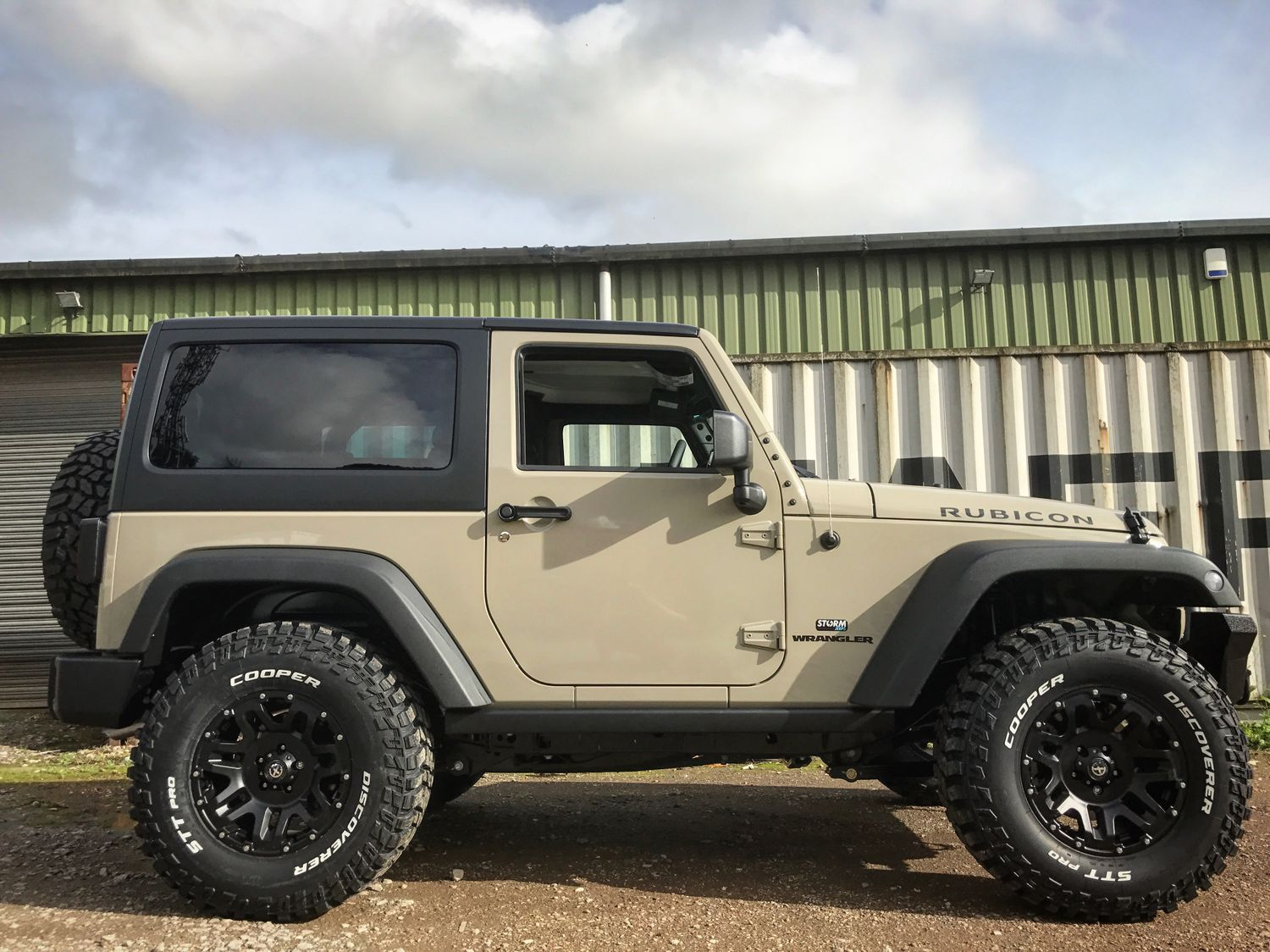 Storm 20 2017 Jeep Wrangler Rubicon 2 Door 3 6l V6