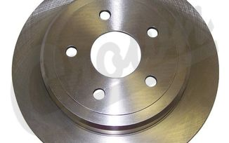 Disc Brake Rotor (Rear) (52089275AB / JM-04010 / Crown Automotive)