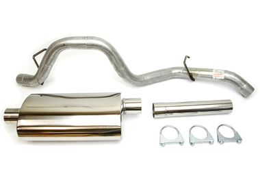 Cat back exhaust system 2.5-L. (0273.20 / JM-05769 / DuraTrail)
