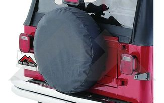 "Tire Cover (Black Denim 30""-32"") (TC303215 / JM-04980 / RT Off-Road)"