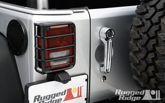 Tail Lamp Guards (Black), JK (11226.02 / JM-02246 / Rugged Ridge)