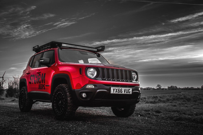 Storm 14 2016 Jeep Renegade Trailhawk Showcase Storm