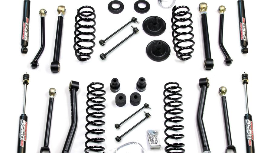 4 u0026quot  lift kit w   flexarms  u0026 9550 shocks  jk 2 door  1451462