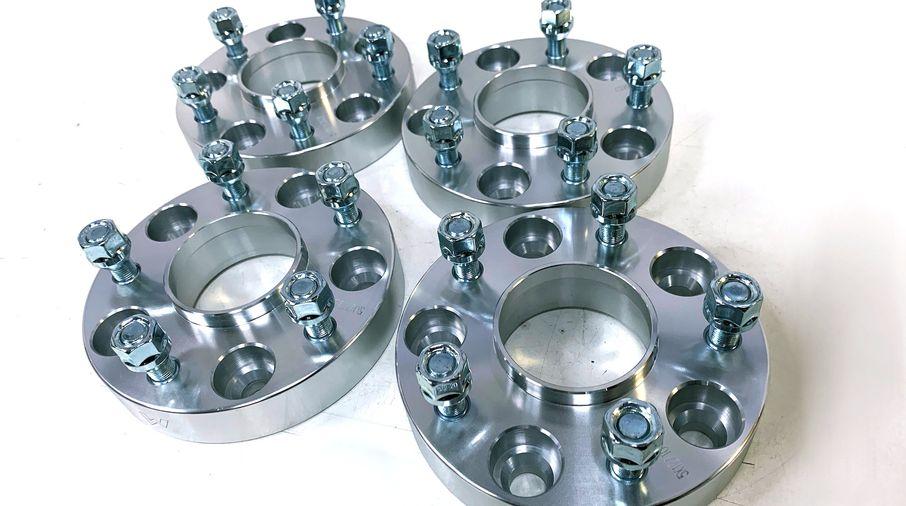 "Wheel Spacer Kit, 30mm 5 x 5"" (TF3004 / JM-04449/B / Terrafirma)"