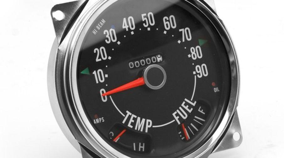 Speedometer Assembly MPG, CJ (914845 / JM-05099 / Omix-ADA)
