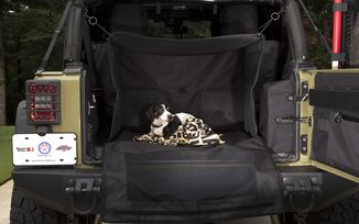 C4 Canine Cube; 07-18 Jeep Wrangler JK (13260.20 / JM-03453 / Rugged Ridge)