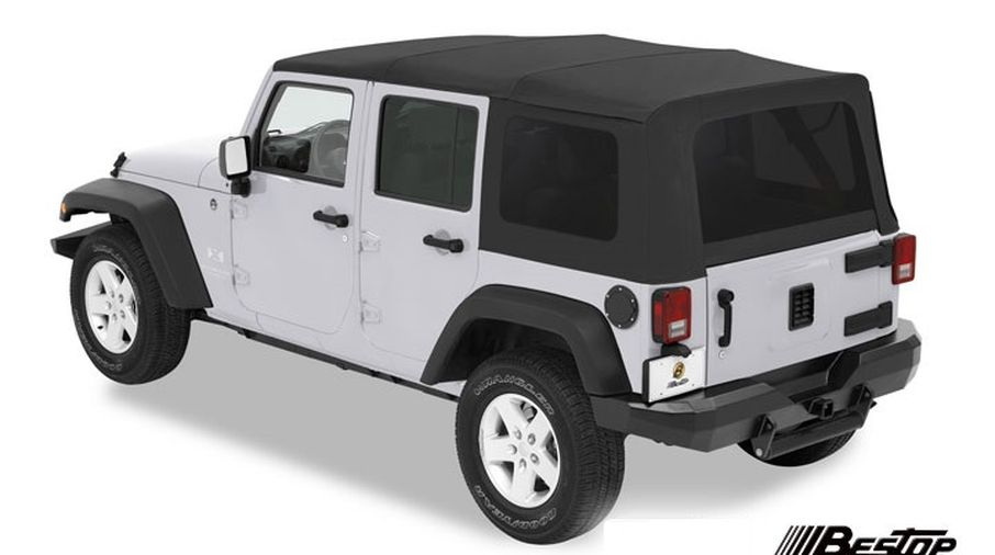 Supertop Soft Top, Black, JK 4 Door (54717-35 / JM-01110 / Bestop)