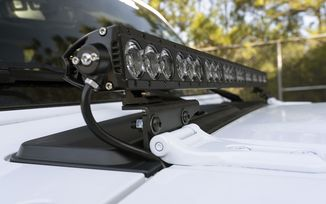 Cowl Light Bar Bracket, JL, JT (11232.71 / JM-05160 / Rugged Ridge)