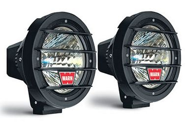 "7"" HID Driving Lights x 2 , Warn (82405 / JM-02093 / Warn)"