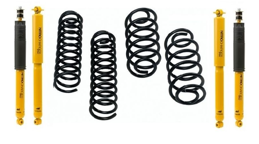 "Jeep WJ Grand Cherokee 1.5/""-4/"" Lift Front Shocks 1999-2004"