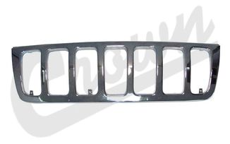 Radiator Grille (Chrome) WJ (55155921AA / JM-01085 / Crown Automotive)
