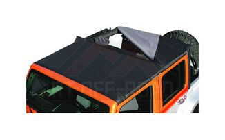 Combo Beach Topper, Black Diamond, JK (CB30135 / JM-01626 / RT Off-Road)