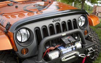 Bug Deflector, Smoke, JK (11350.02 / JM-02550 / Rugged Ridge)