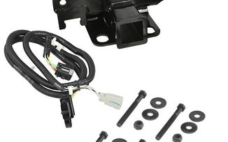 Receiver Hitch Kit with Wiring Harness, JK (11580.51 / JM-02625 / Rugged Ridge)