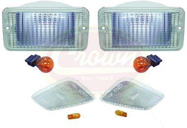 Clear Lamp Kit (Wrangler TJ) (TJ-CR-4/RT28015 / JM-00227 / RT Off-Road)