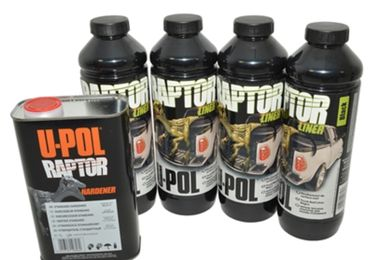 Raptor Paint Kit, Black (DA6382 / JM-02919 / U-POL)