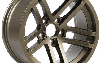 Jesse Spade Wheel, 17X9 (ET-12), Bronze (15303.89 / JM-05590 / Rugged Ridge)