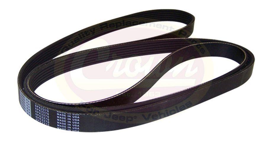 serpentine belt 89 5 53010234 jeepey jeep parts spares serpentine belt 89 5 53010234 jm 00300 crown automotive