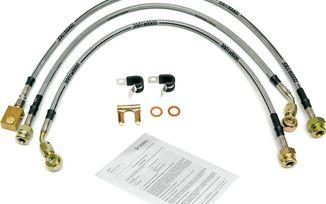 Stainless Brake Hose Kit, CJ 79-86 (0359.01 / JM-05180 / DuraTrail)