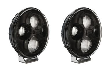 "TS4000 7"" Round LED Driving light, Pair (404TS4000DSET / JM-04820 / J.W. Speaker)"