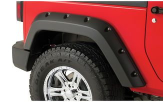 Rear Pocket Fender Flare - JK 2 Door (10078-02 / JM-03086 / Bushwacker)