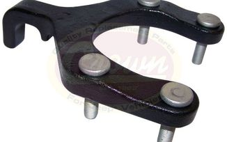 Tow Hook (Front), JK / JL (52060378AC / JM-02429 / Crown Automotive)