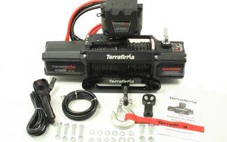 Terrafirma A12000 Winch Synthetic Rope Wireless & Cable Remote Control (TF3301 / JM-04272 / Terrafirma)