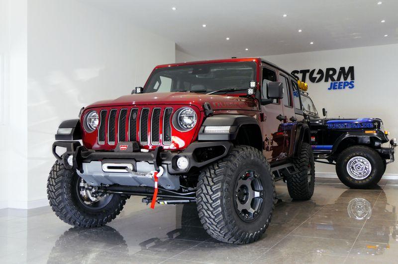 STORM-50, 2021 Snazzberry Red Jeep Wrangler JL Rubicon 4 Door 2.0L