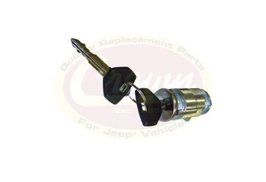 Coded Ignition Cylinder, with Keys (5003843K / JM-00870 / Crown Automotive)