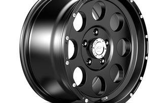 1422 Series Wheel, Black 17x9 (ET16) (1422.45 / JM-04304 / DuraTrail)