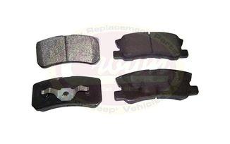 Brake Pad Set (Rear) (68028671AA / JM-03224 / Crown Automotive)