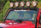 Windshield Mount Light Bar, JK (11232.21 / TF4105 / JM-02187 / Rugged Ridge)
