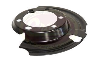Brake Dust Shield (Front Left) (52005477 / JM-01171 / Crown Automotive)