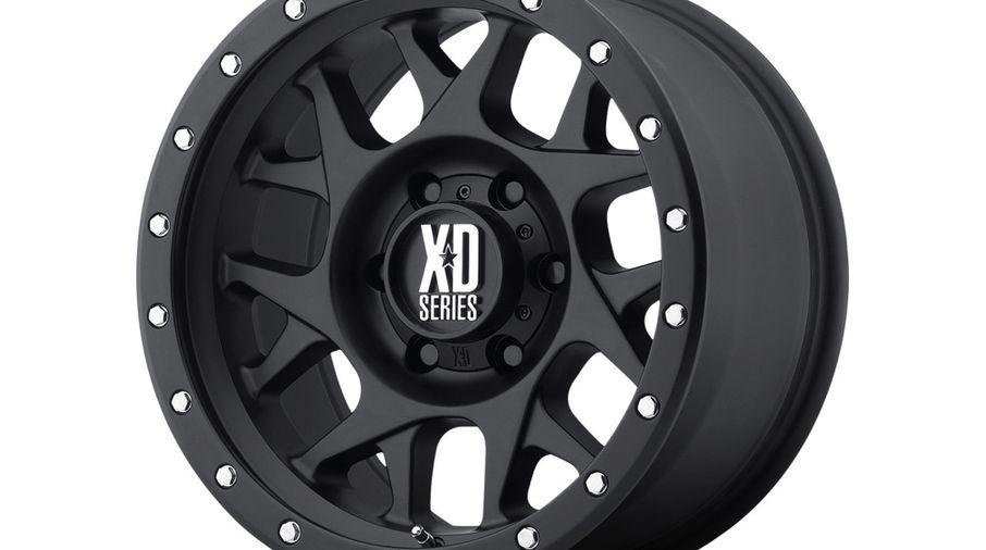 Bully XD127, Black, 16x7, Renegade (XD12767042726 / JM-04035 / XD Series)