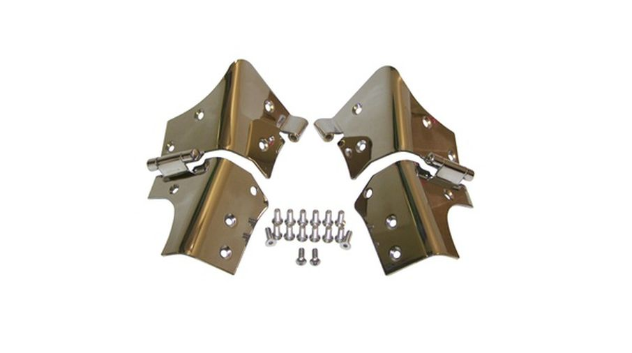 Windshield Hinges (Stainless), TJ (RT34066 / JM-00897/OS / RT Off-Road)