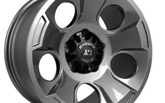 Drakon Wheel, 17X9 Gun Metal, JK (15302.30 / JM-02182 / Rugged Ridge)
