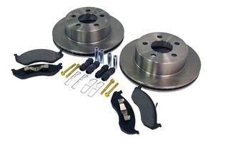 Disc Brake Service Kit (Front XJ & TJ) 1999 on (5016434K / JM-00553 / Crown Automotive)