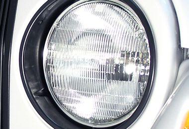 Black Headlight Bezels, TJ (12419.23 / JM-02248 / Rugged Ridge)