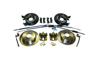 Drum to Disc Conversion Kit (Dana 35, With Cables) (D35DISC / JM-01025 / RT Off-Road)